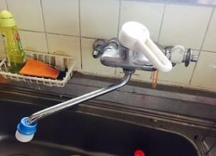 台所蛇口水漏れ修理価格値段料金市県都