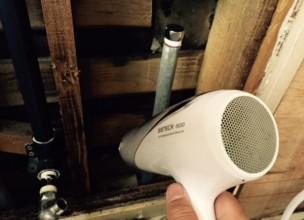 水漏れ漏水調査トイレキッチン洗面所浴室水の流れる音がする