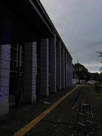 綾瀬市役所イルミネーション7