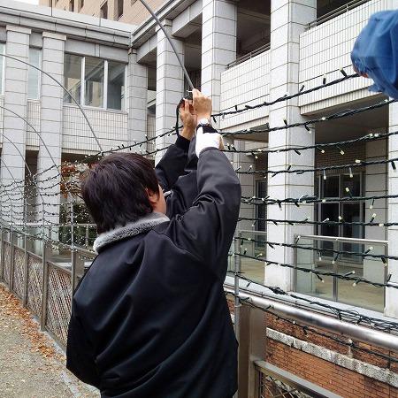綾瀬市役所イルミネーション4