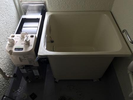 県営住宅へご入居される際の、風呂釜の新規設置工事【横浜市】その6