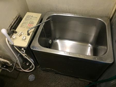 バランス釜RBF-SNからRBF-A80SN&900浴槽のお取替え工事【都営住宅 in 葛飾区柴又】その1
