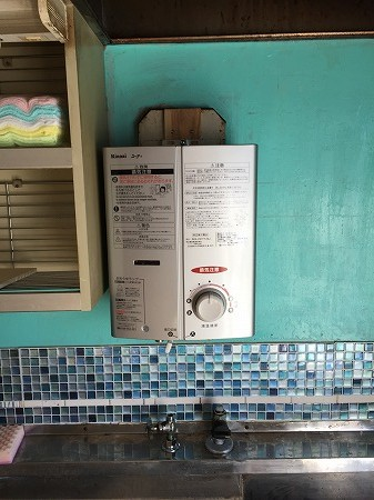 落ちにくい油汚れは、お湯で洗うのが一番です。