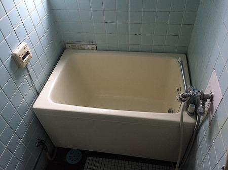 給湯器(HOL-1650AQ)&110cm浴槽の交換工事【 in UR都市機構(公団)】その1