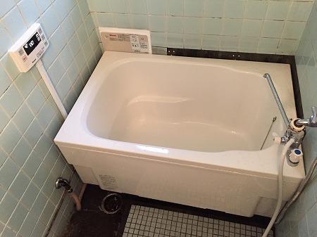 給湯器(HOL-1650AQ)&110cm浴槽の交換工事【 in UR都市機構(公団)】その7
