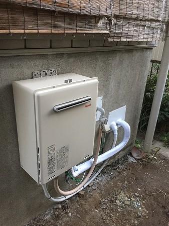 バランス釜から給湯器へのリフォーム工事【横浜市金沢区】その8