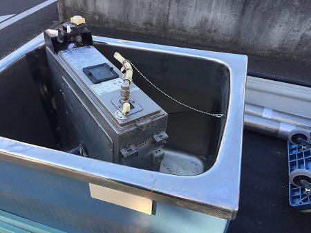 バランス釜から給湯器へのリフォーム工事【横浜市金沢区】その1