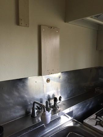 ホールインワン風呂釜&湯沸かし器の新規取り付け工事【藤沢市】4