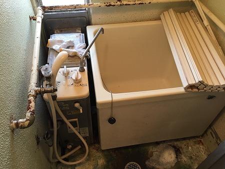 【ガスター  SR-S1】バランス釜のお取替え工事 【藤沢市大庭】ガスター製風呂釜sr-s1からの交換工事は、経験豊富な当社にお任せください。その1