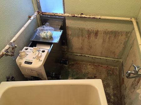 【ガスター  SR-S1】バランス釜のお取替え工事 【藤沢市大庭】ガスター製風呂釜sr-s1からの交換工事は、経験豊富な当社にお任せください。その5