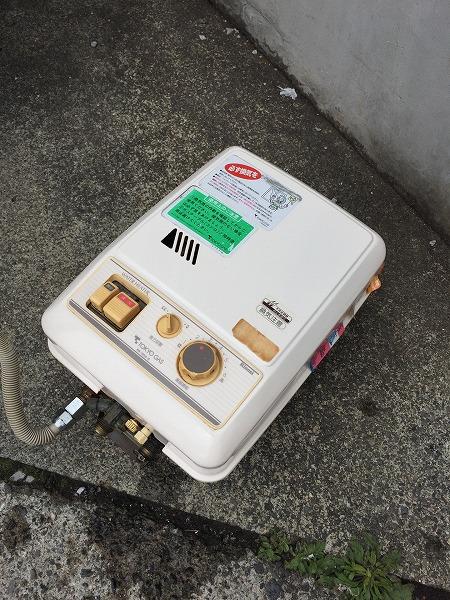 先止め式ガス瞬間湯沸かし器のお取替え工事【横浜市港北区】その5