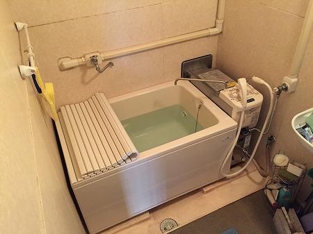 共有ダクト設置型バランス釜&110cm浴槽へのお取替え【横浜市南区】その9