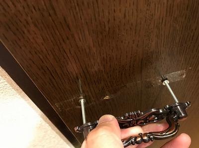 ドアや引き出しの取っ手の交換・取り替え方法【道具があれば超簡単】10