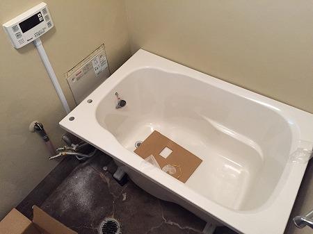 団地用シャワー専用給湯器セットの取り付け工事【川崎市幸区河原町】その5