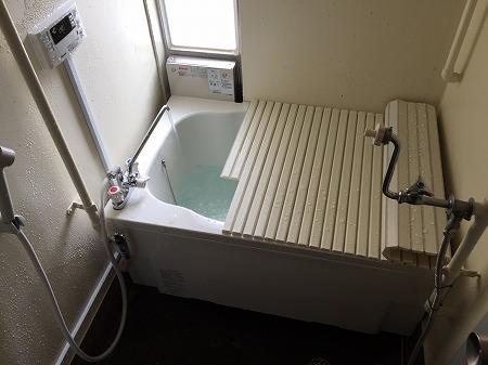 団地用お風呂セット&湯沸かし器の取り付け工事【綾瀬市】その9