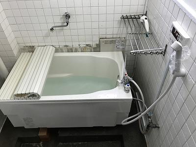 【BF式風呂釜からリモコン式風呂釜へのお取替え工事】横浜市磯子区4
