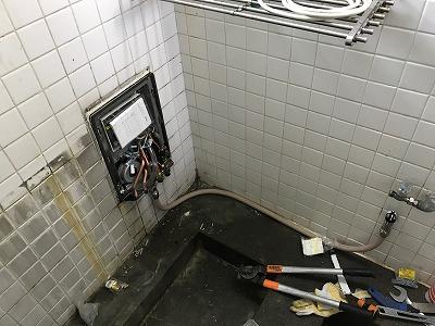 【BF式風呂釜からリモコン式風呂釜へのお取替え工事】横浜市磯子区2