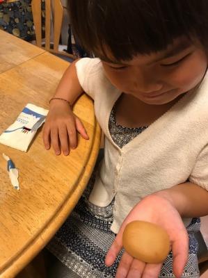 お客様より、横浜の銘菓「ありあけ横濱ハーバー ミルクモンブラン」を頂きました!その5