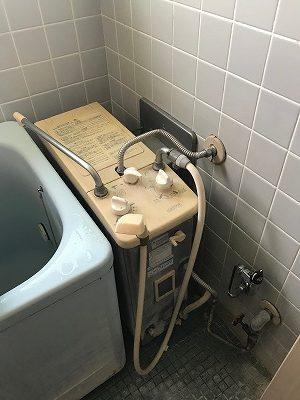 共用給排気筒用風呂釜SR-SD→RBF-ASNDへのお取替え工事【横浜市金沢区】その1
