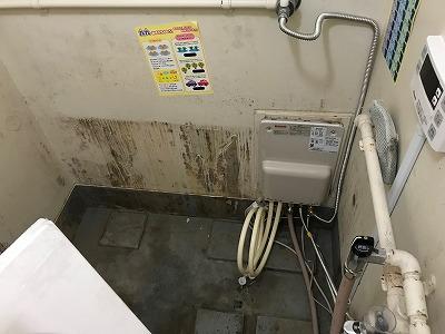 バランス釜から給湯器への交換・リフォーム【 in 練馬区春日町】その5