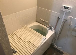 お風呂の新規設置【県警公舎 in 川崎市】