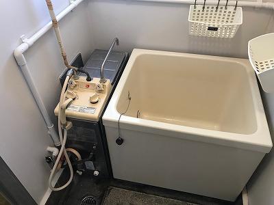 ノーリツGBSQ-603S(風呂釜)の交換工事【都営住宅 in 立川市富士見町】ノーリツGBSQ-603Sからのお取替えは、確実な工事をお得な費用で提供する、当社にお任せください。その1