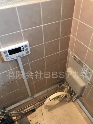 ガスターHOL-1600DA&浴槽セットのお取り替え工事【横須賀市湘南鷹取】故障したガス給湯器のお取り替え工事の施工実績です。その4