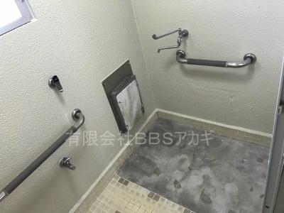 団地のお風呂場へのシャワーの取り付け工事【県営住宅 in 平塚市】その1