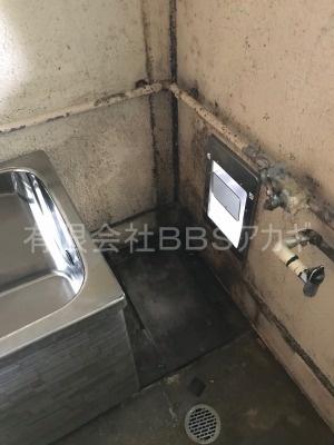 ガスターKG-808BFK-SH2(風呂釜)の交換工事【県営住宅 in 横浜市瀬谷区】ガスターKG-808BFK-SH2はバランス釜と呼ばれる風呂釜です。当社であれば、お得な費用でお取り替えが可能です。ご依頼の前に、まずは当社の施工実績をご覧ください。その3