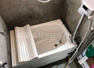 浴室の内釜を給湯器に交換するリフォーム工事【県営住宅 in 横浜市戸塚区】