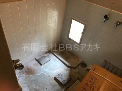 シャワー&浴槽の新規取り付け工事【川崎市幸区】その1