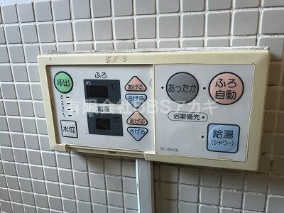 浴室リモコン(工事前)|ノーリツ製バスイング「GTS-161A」のお取り替え工事【東京都東久留米市】