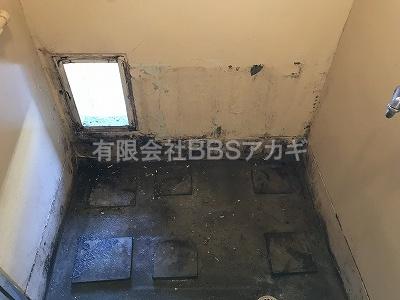 3|バランス釜「KG-806BFK-FSM1」から広い浴槽へリフォームする工事【都営住宅 in 東京都板橋区】