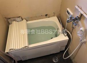 バランス釜「KG-806BFK-FSM1」から広い浴槽へリフォームする工事【都営住宅 in 東京都板橋区】
