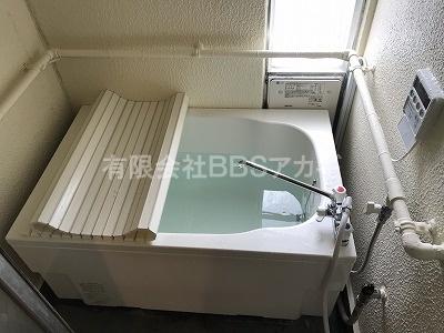 |団地用広いお風呂の新規取り付け工事【県営住宅 in 藤沢市】