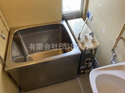 現在のお風呂場の様子です。|団地用のお風呂をシャワー室に♪【県営住宅 in 横浜市磯子区】
