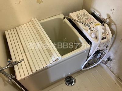 |団地用お風呂セットの新規取り付け工事【公営住宅 in 横須賀市追浜本町】
